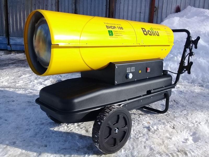 Использование тепловых пушек для обогрева дачного дома
