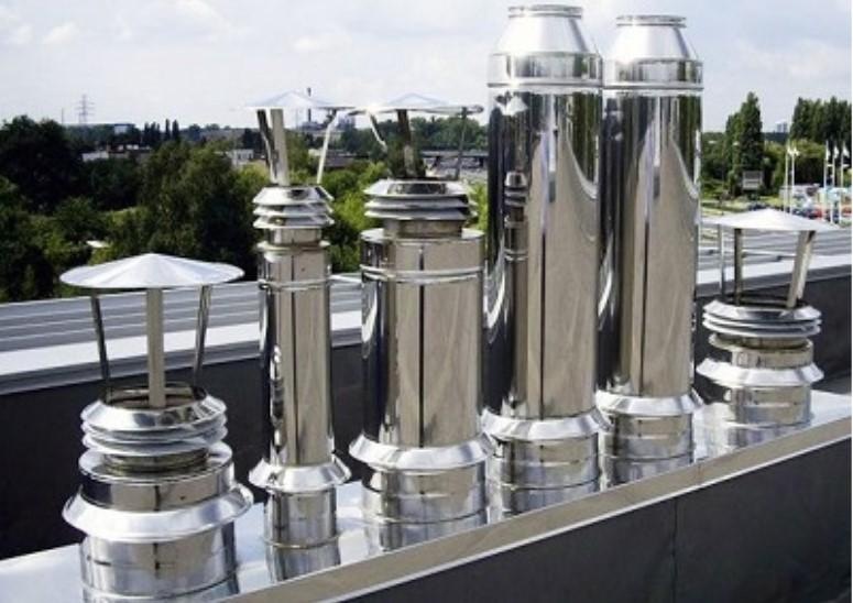 Какие есть преимущества у дымохода из металла