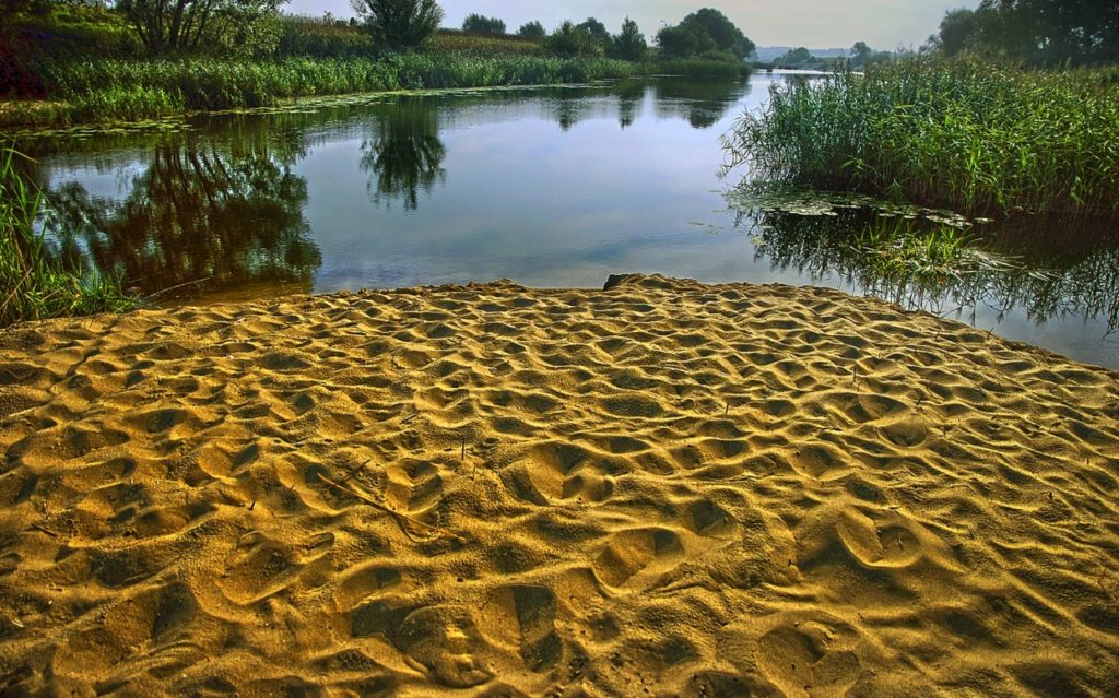 Использование песка в бетонах и цементно-песчаных растворах