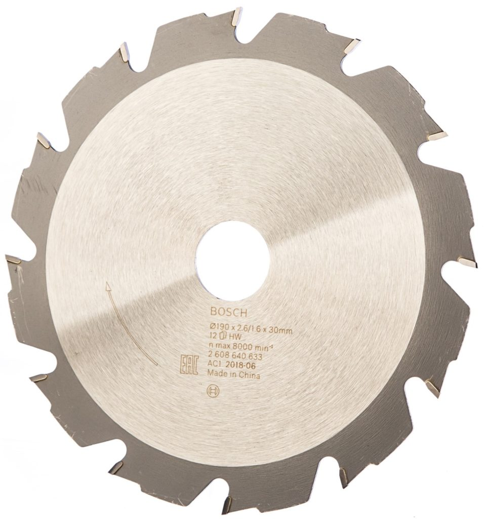 5 популярных пильных дисков по дереву, выбираемых с учётом специфики работ