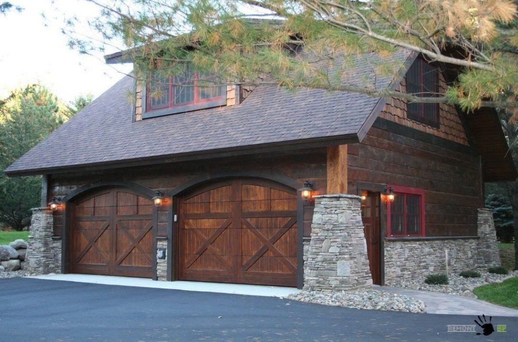 Крыша для гаража: установка стропильной системы, монтаж и утепление кровли