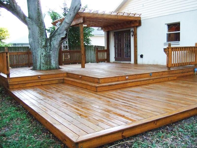 Садовая платформа: виды укладки и особенности монтажа