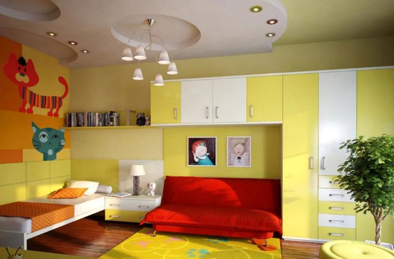 Цвета для детской комнаты: психология и варианты сочетаний в интерьере