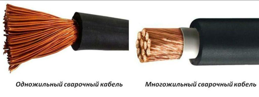 Кабели для сварочных аппаратов: подбор по мощности и допустимое удлинение