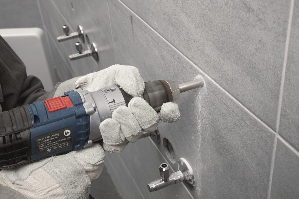 Инструмент и оснастка для сверления отверстий в керамической плитке