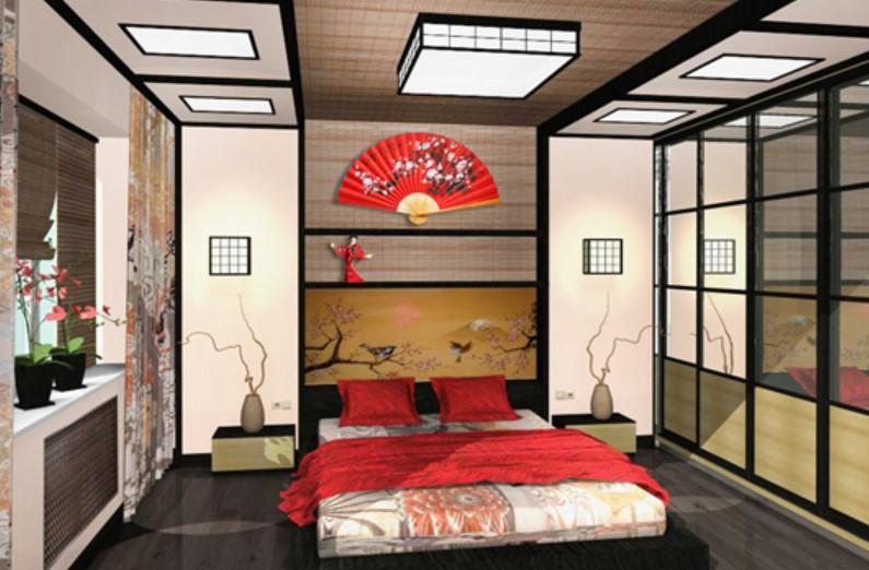 Спальня в японском стиле: особенности оформления