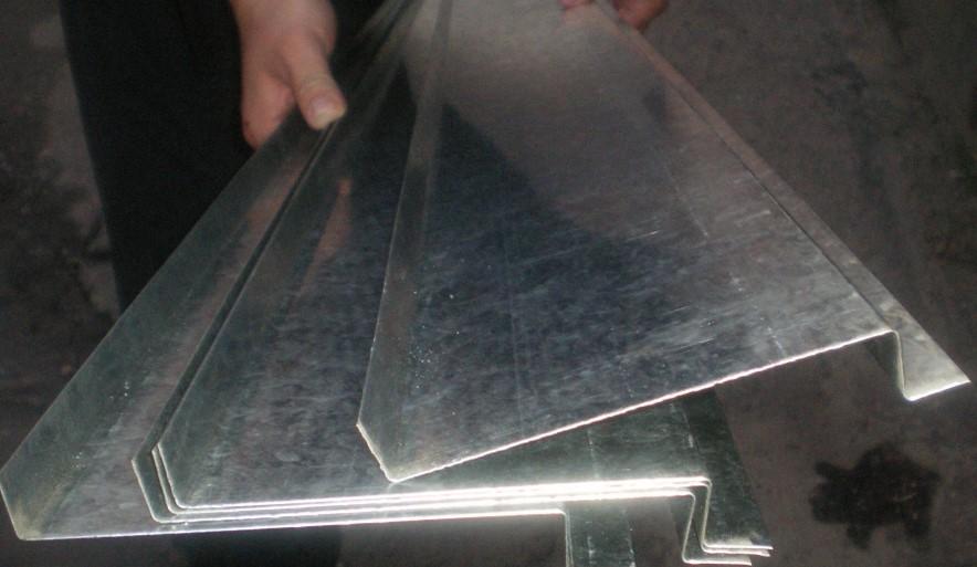 Отливы из оцинкованной стали: как изготовить своими руками