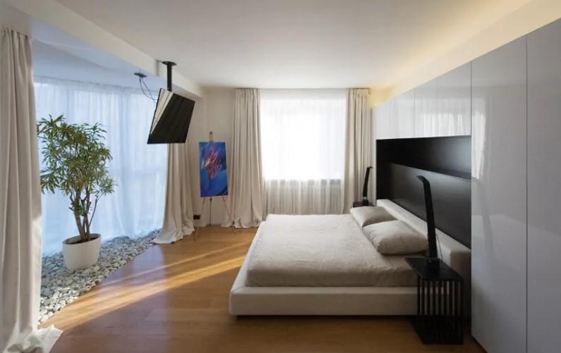 Телевизор в спальне: секреты уюта
