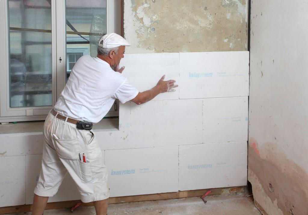 Как и чем производят внутреннее утепление стен жилых помещений