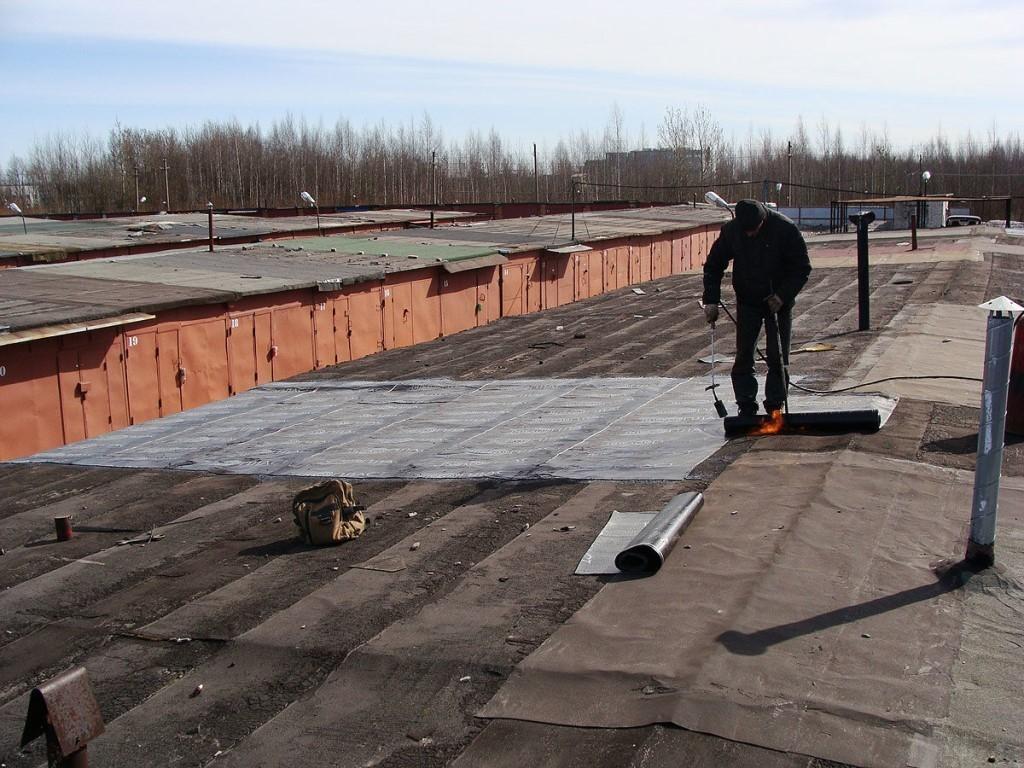 Ремонт разных видов гаражных крыш