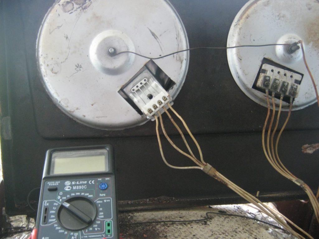 Основные неисправности электроплит