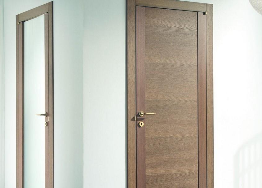 Ламинированные двери: виды и особенности