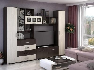 Как правильно выбрать мебель в гостиную и найти место для телевизора