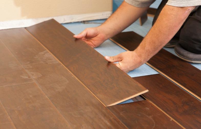 Как отремонтировать ламинатное покрытие