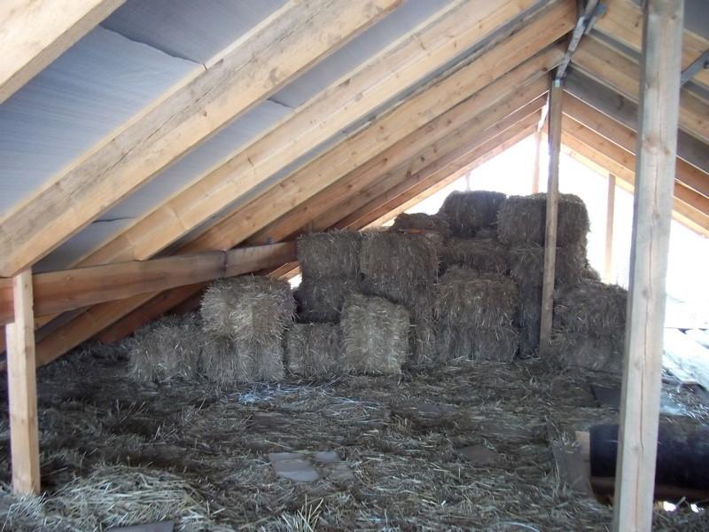 Способы утепления потолка в доме с холодным чердаком