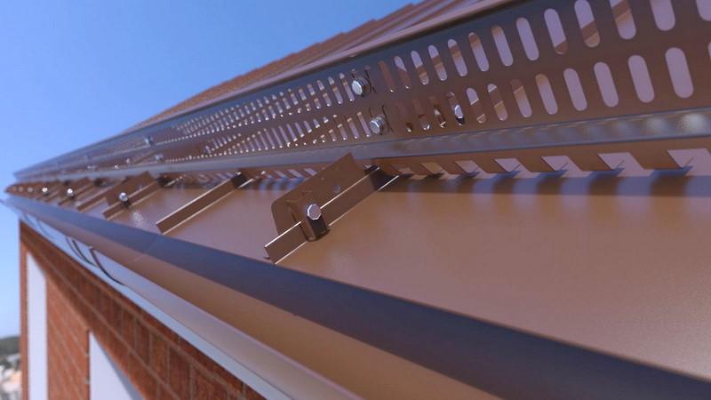 Для чего нужны снегозадержатели на крышах