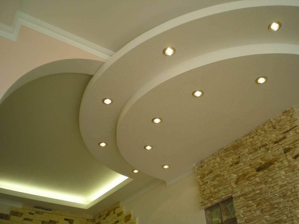 Разновидности подвесных потолков из гипсокартона