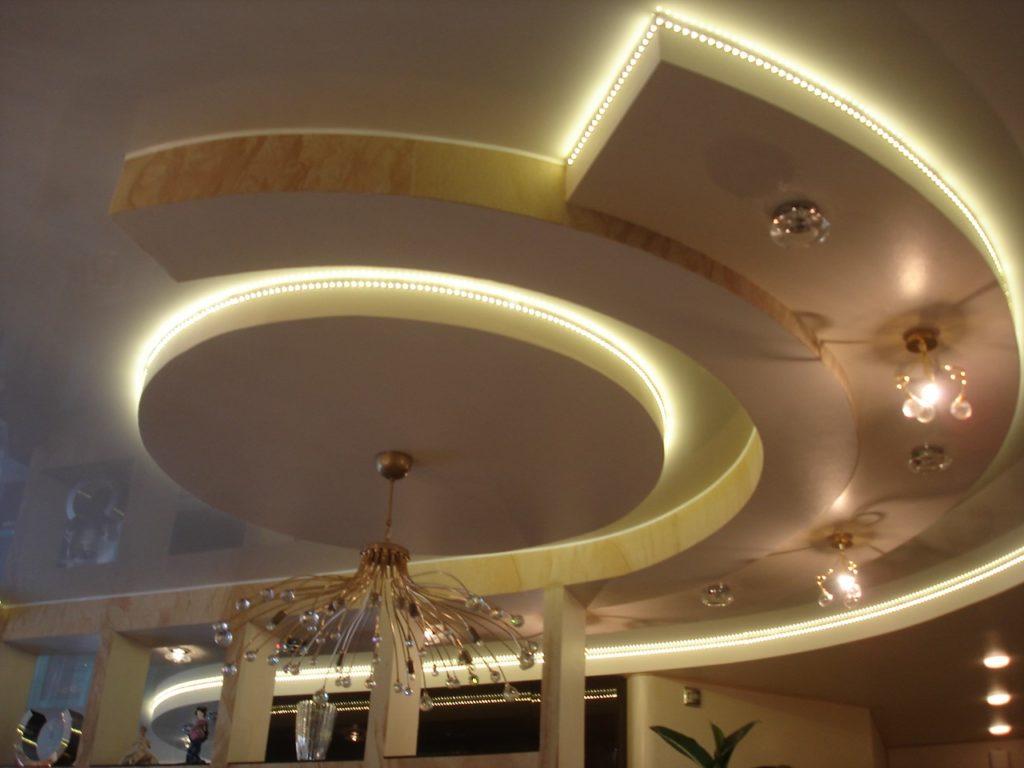 Что нужно знать о двухуровневом потолке из гипсокартона