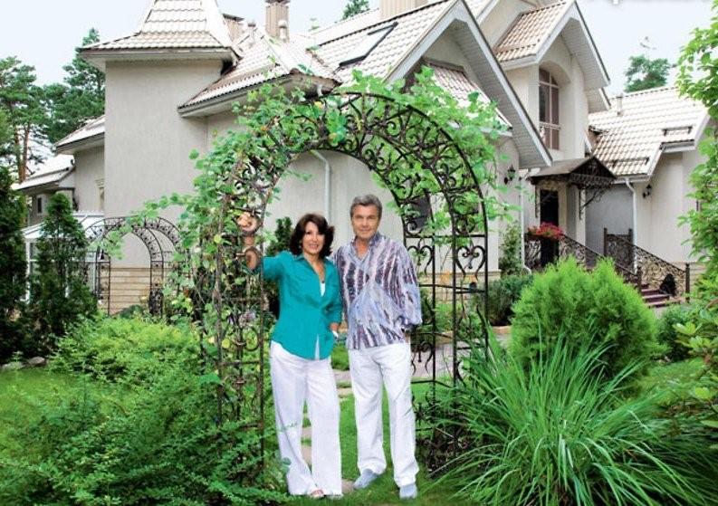 Супруги Лещенко и их усадьба