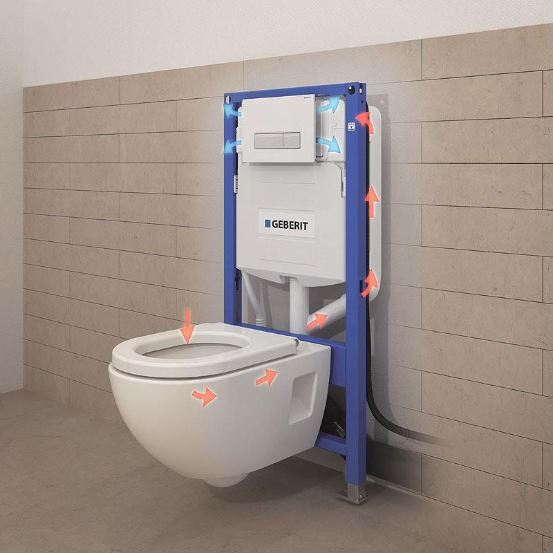 Разновидности систем инсталляций для унитаза