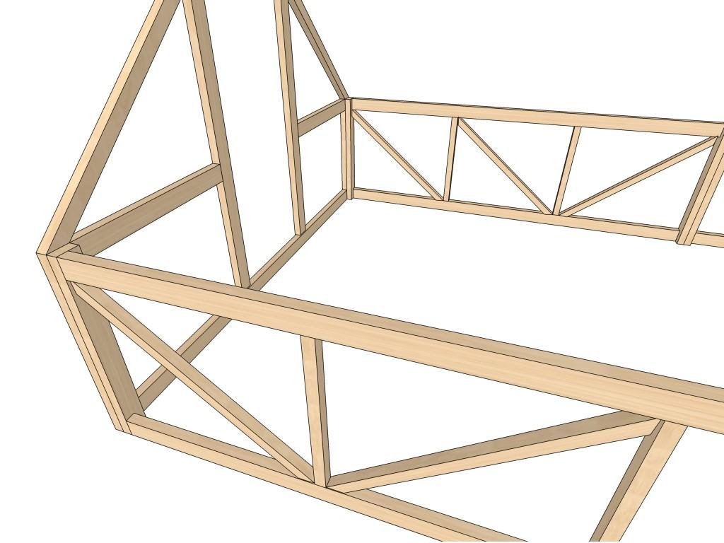 Как построить деревянную теплицу на своём участке