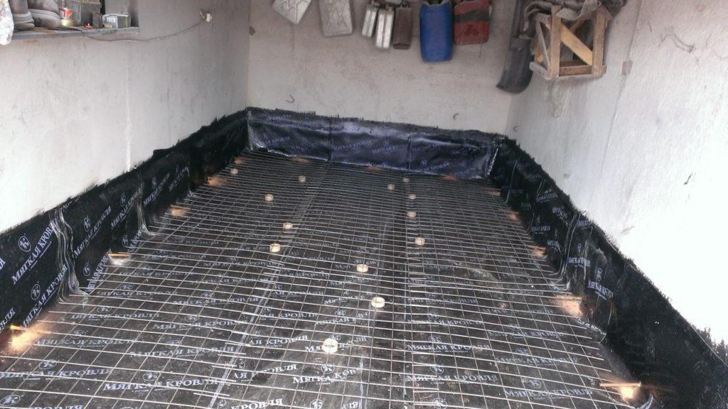 Как сделать гидроизоляцию гаража