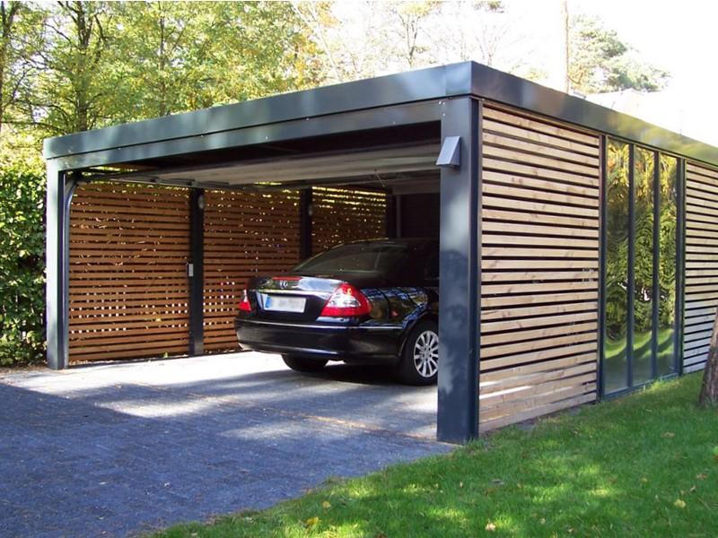 Правила установки гаража на участке