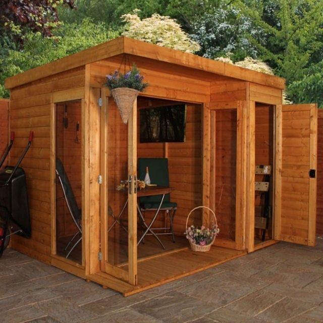 Как преобразовать старое помещение в привлекательную небольшую постройку своими руками
