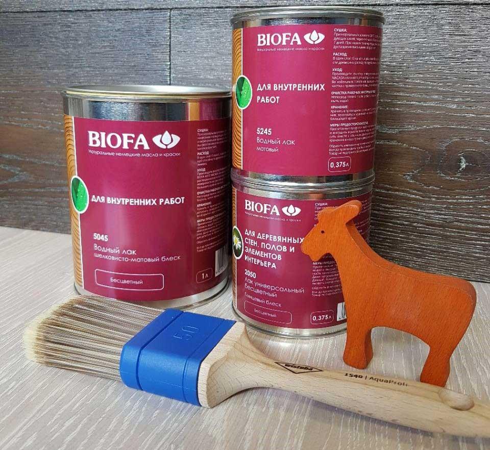 Лак для покрытия деревянной поверхности и его виды