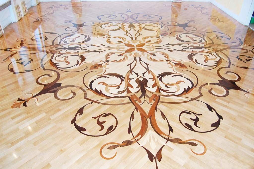 Декоративные полы – интересное решение для создания стильного интерьера помещения