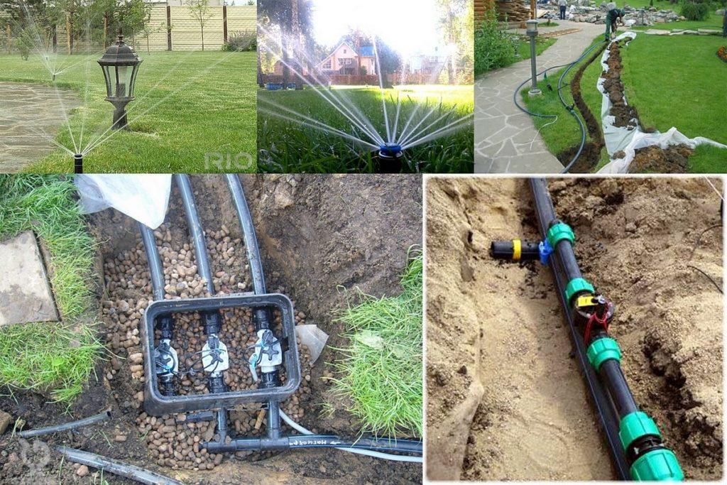 Делаем сами систему полива на загородном участке
