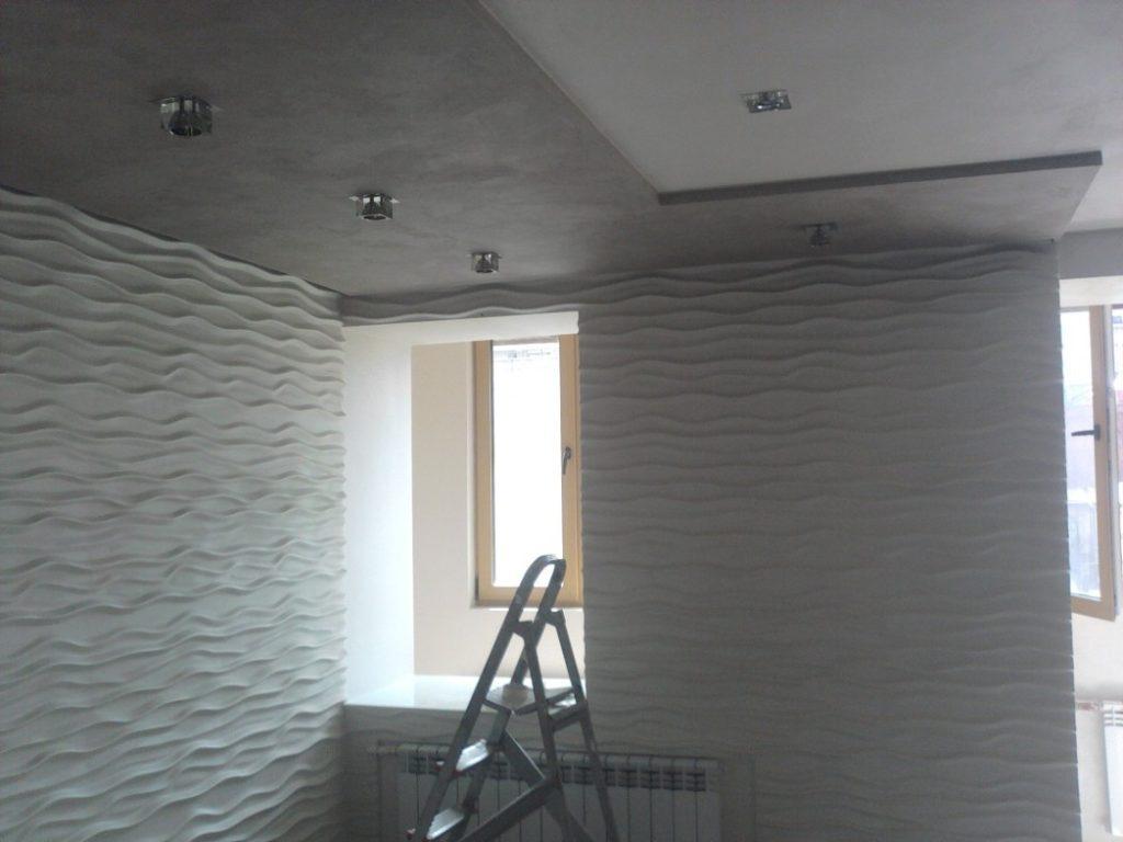Какой материал лучше всего пригоден для внутренней отделки стен