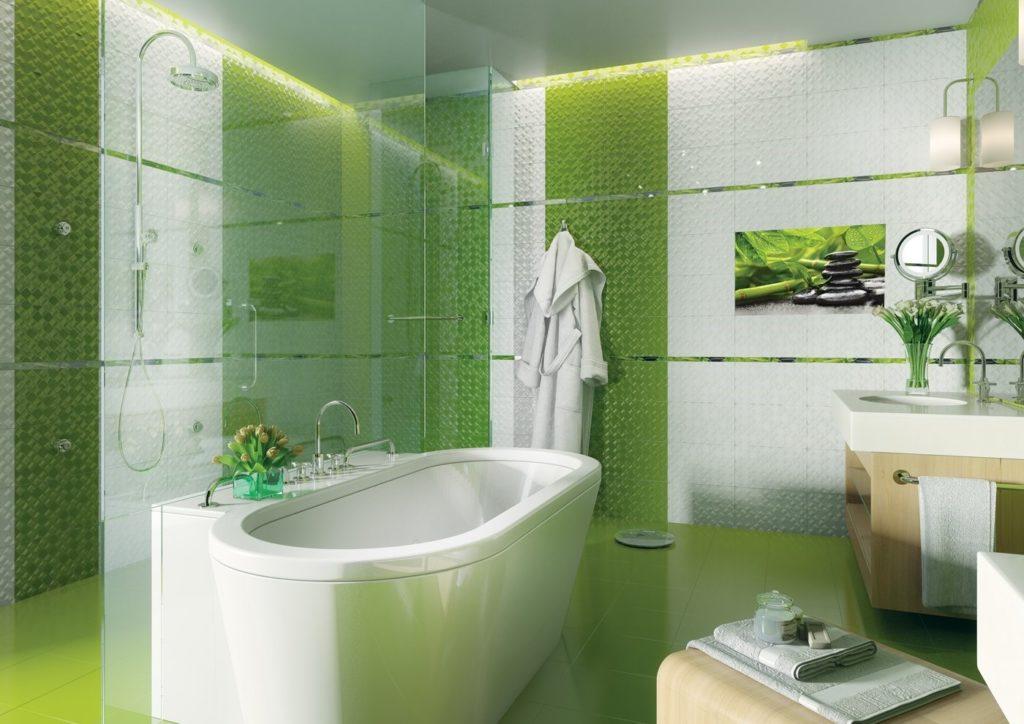 Какую плитку лучше использовать для ванных помещений