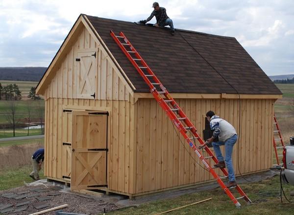 Как построить дом из старого сарая