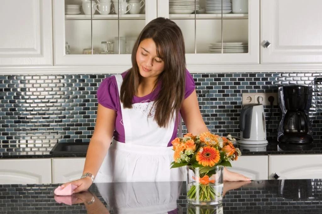 Оригинальная столешница для кухни своими руками