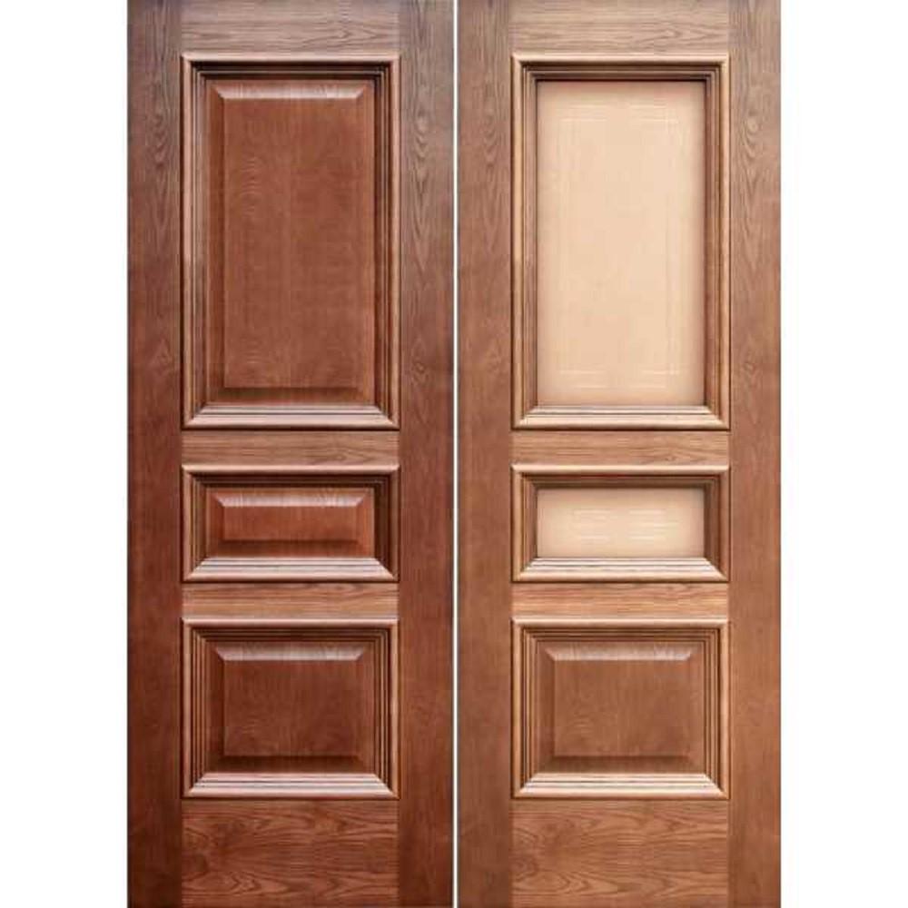 Как выбрать шпонированную дверь для дома