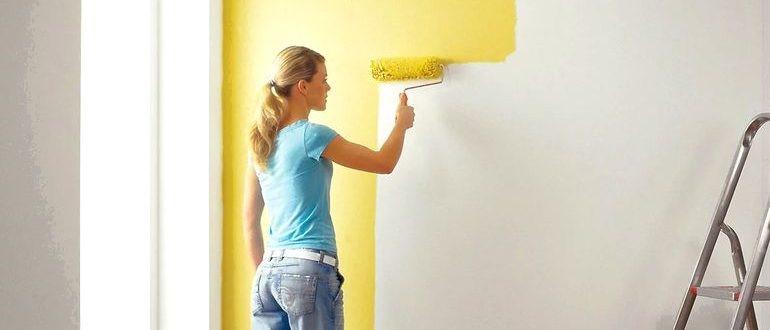 Виды красок для наружных и внутренних работ