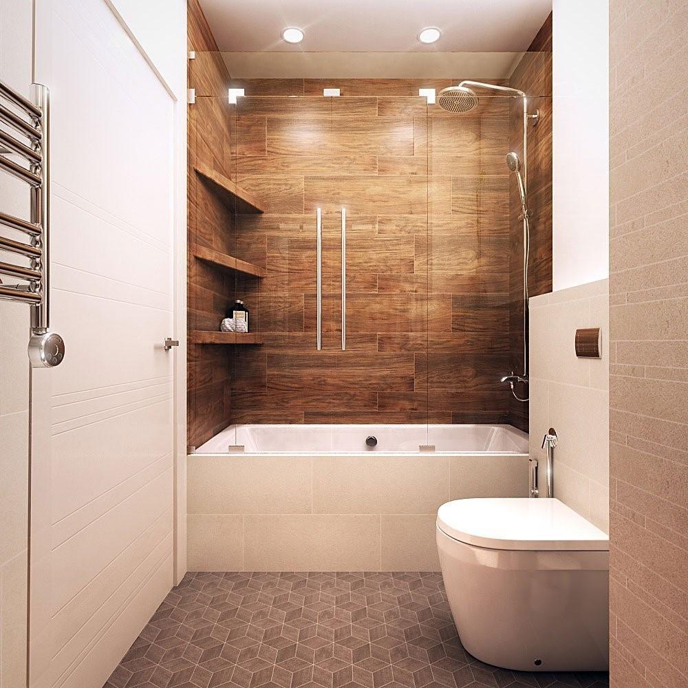 Ламинат на стене – креатив в любой квартире