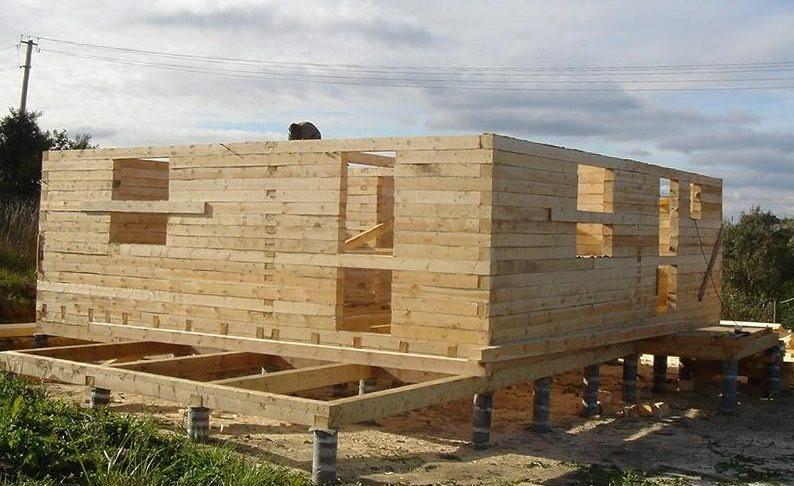 Как выбрать фундамент для дома из бруса