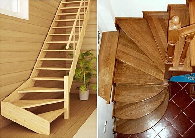 Самодельная забежная лестница: конструкции и преимущества