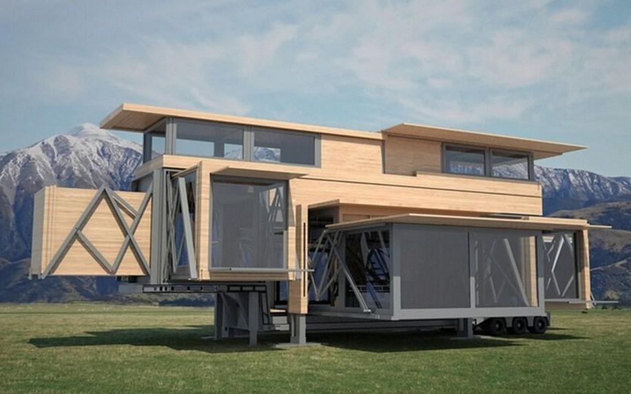 Как сделать дом-трансформер на колесах без специальных навыков