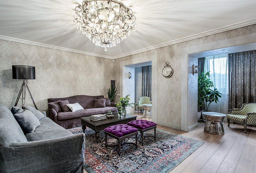 Элегантный интерьер квартиры Лизы Арзамасовой
